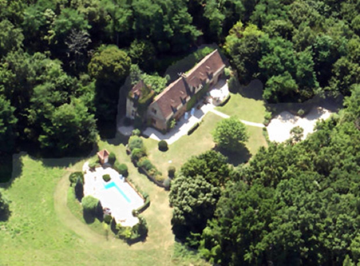 Ancien manoir, avec piscine, vallée de la Dordogne
