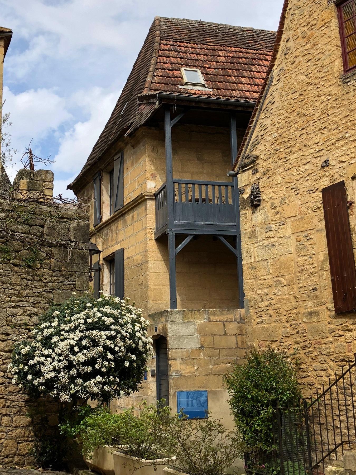 Maison traditionnelle , cité médiévale de Sarlat