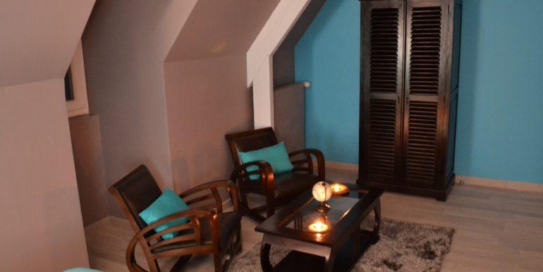 Chambre Livingstone - Espace salon