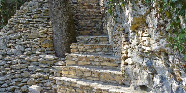 Escaliers piscine 01