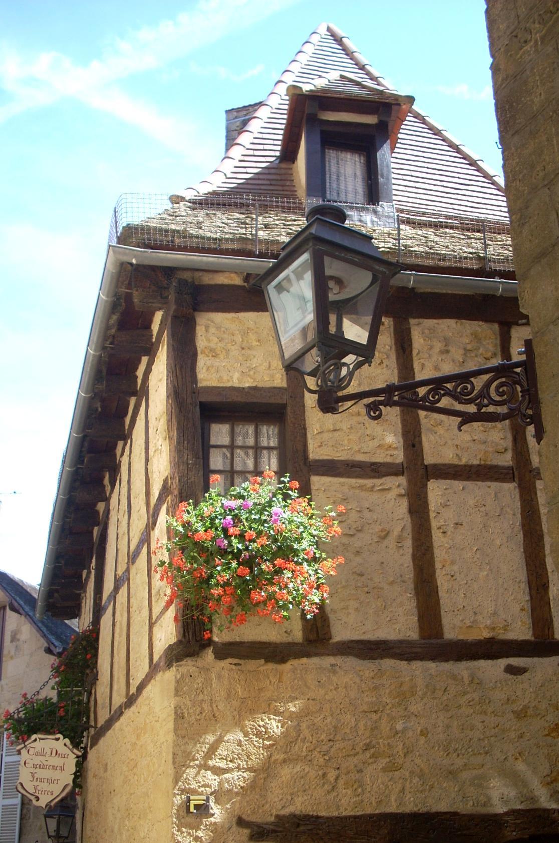 Centre ville médiéval de Sarlat en Périgord